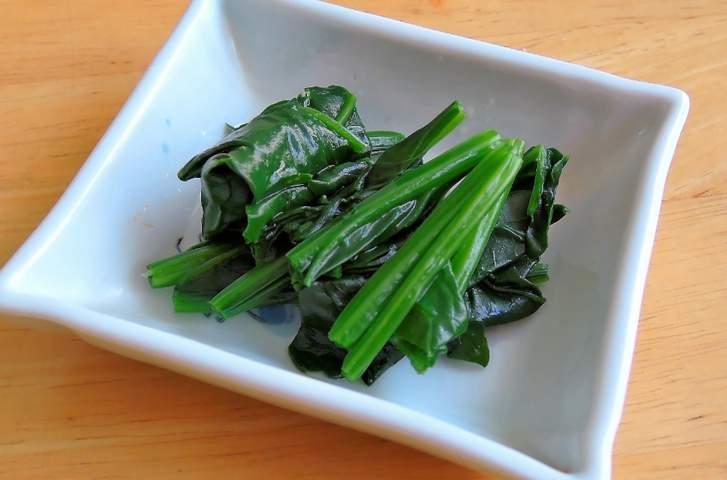 お浸しにして食べることが多い野菜です