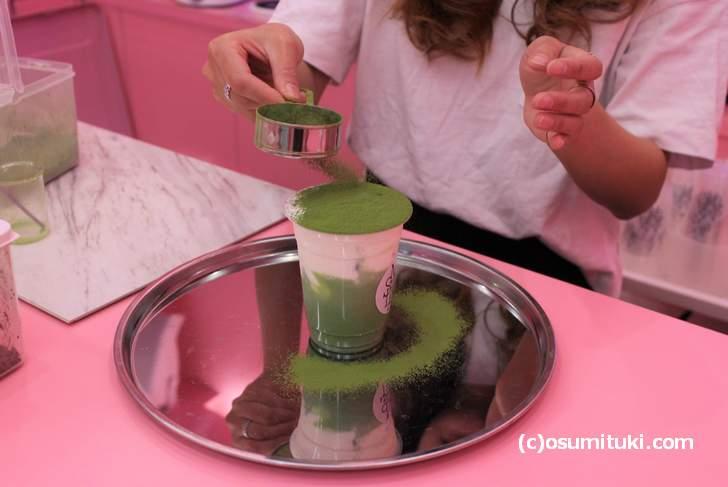 とにかくオススメは「抹茶」を使ったラテ