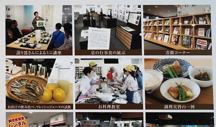 京の食文化ミュージアム 食あじわい館で出来る事