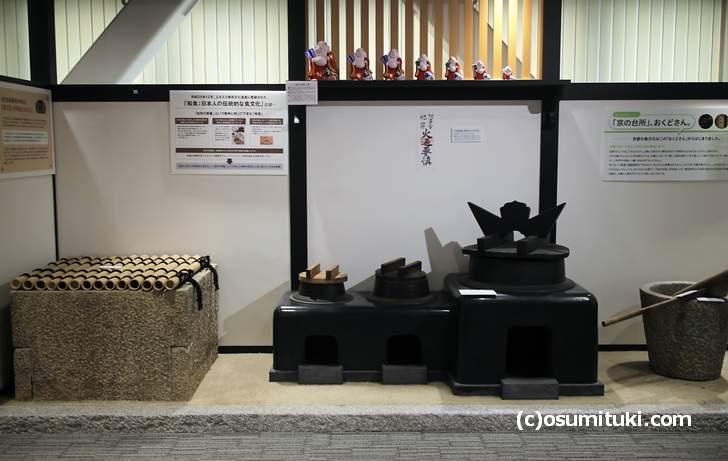 京の食文化ミュージアム 食あじわい館 は京都の食文化を展示するミュージアム