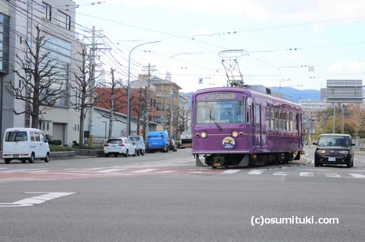 今回は京都唯一の路面電車「嵐電(京福電鉄)」周辺グルメです