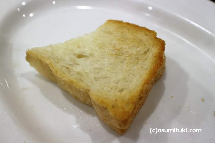 トーストにするとサクサクとして食べやすい