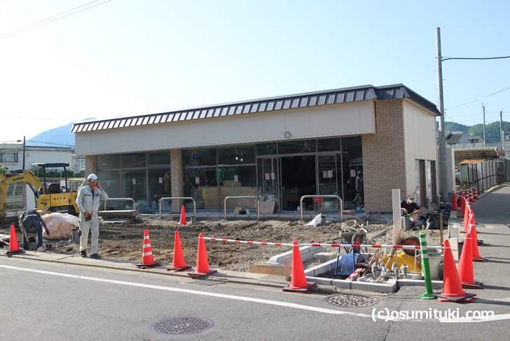 鹿王院駅前に「セブンイレブン」が新店オープン