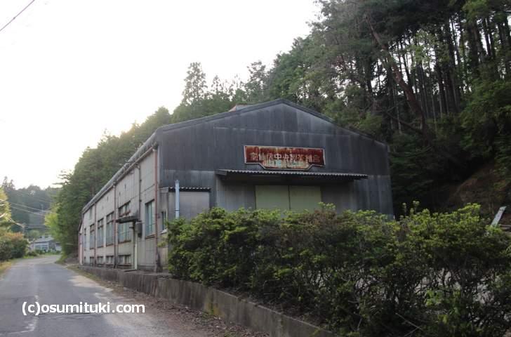南山城村の北部「童仙房(どうせんぼう)」の風景