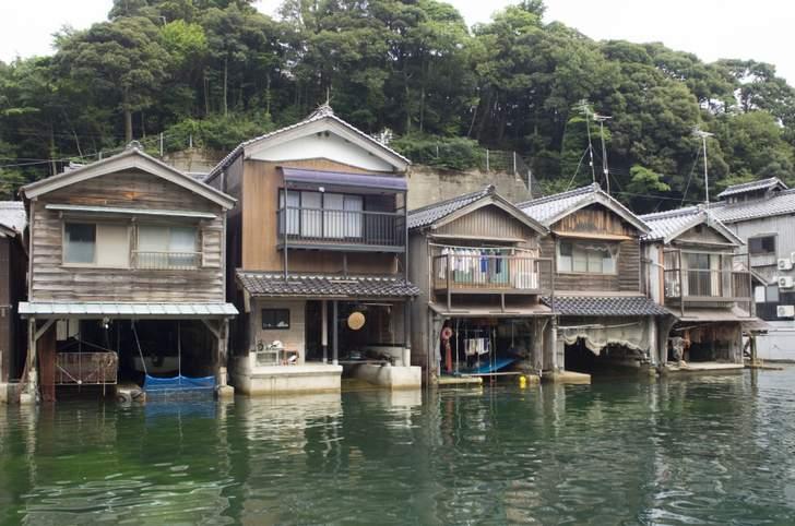 有名すぎる伊根の舟屋