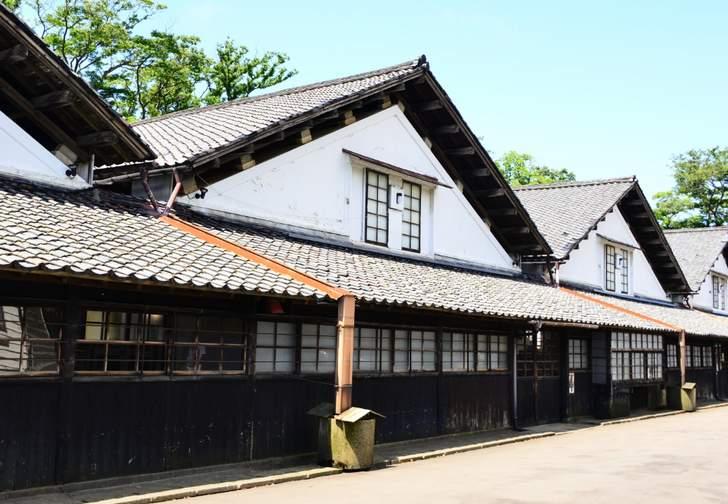 山居倉庫(近影)