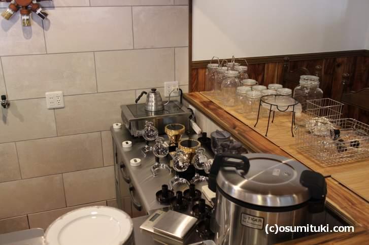 自家焙煎のコーヒーとスパイシーカレーのカフェだそうです