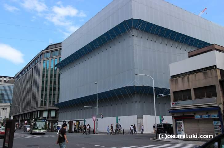 すぐ隣は「APPLEストア 京都店」と噂された商業ビル