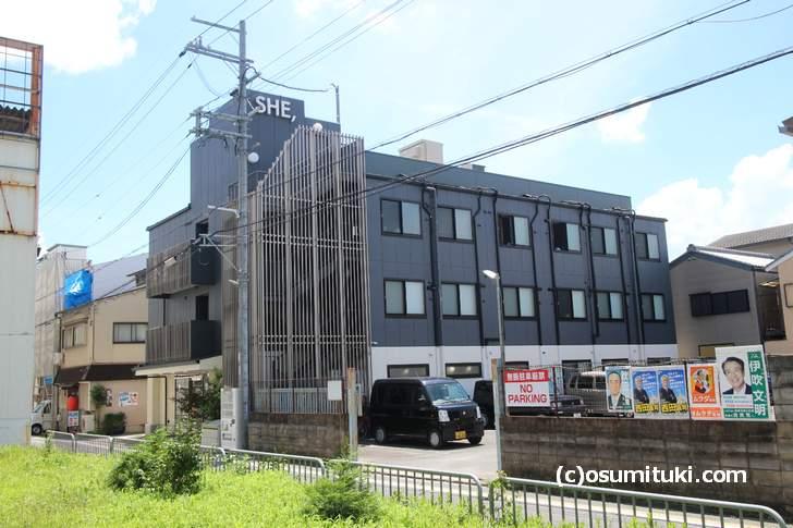 HOTEL SHE, KYOTO 外観