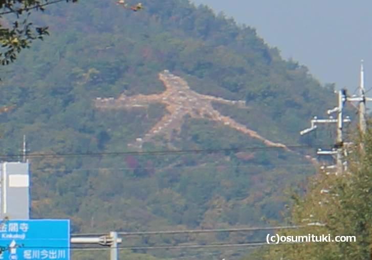 京都の「左大文字」、五山送り火と言いますが、かつては10の送り火が存在していた?