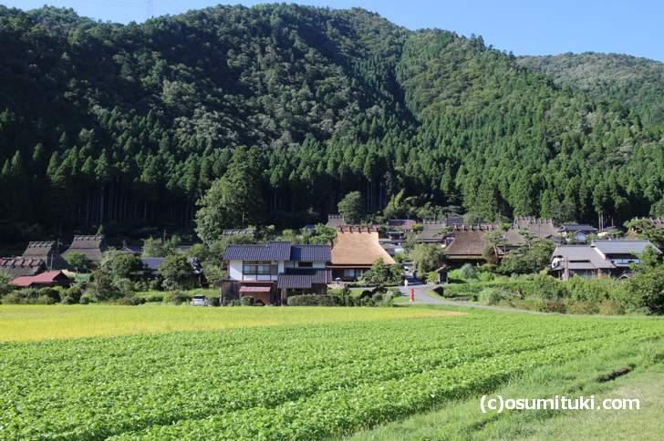 茅葺き(かやぶき)の古民家が立ち並ぶ「美山 かやぶきの里」
