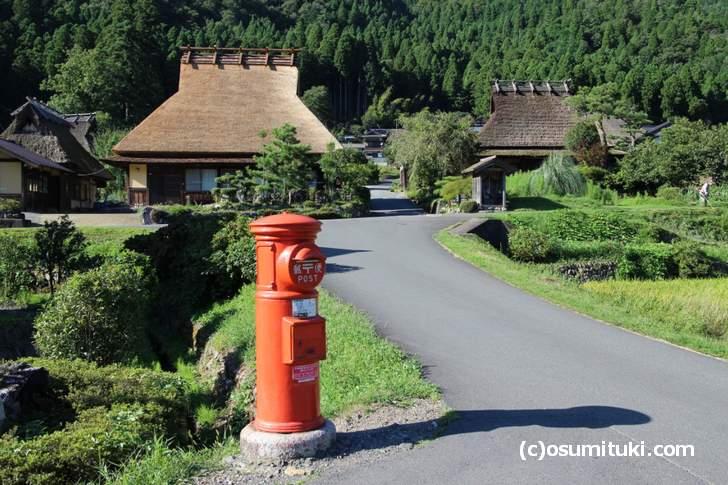 美山のインスタ映スポット「郵便ポスト」