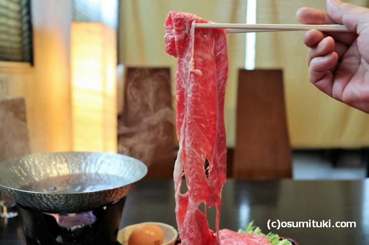 京都大宮「牛・キムラ」のハリハリ鍋は絶品!