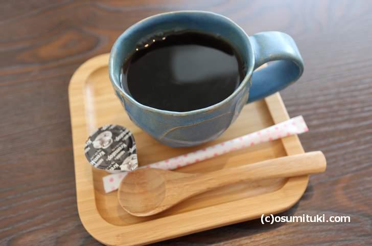 きぬカフェのコーヒー「アフリカン・ムーン」