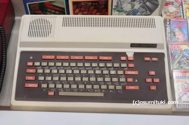 1981年に発売された「PC-6001」