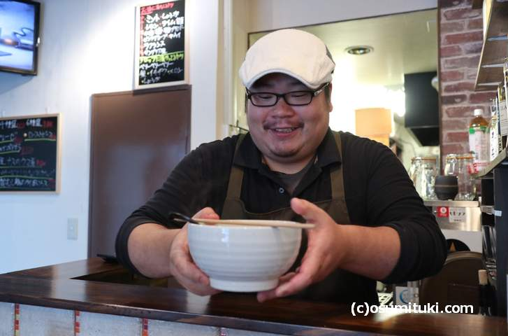 もう食べましたか?イタリア創作料理店の「担々麺」