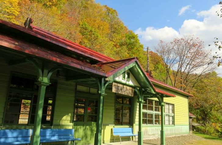 1969年(昭和44年)10月1日に廃止された「神居古潭駅」