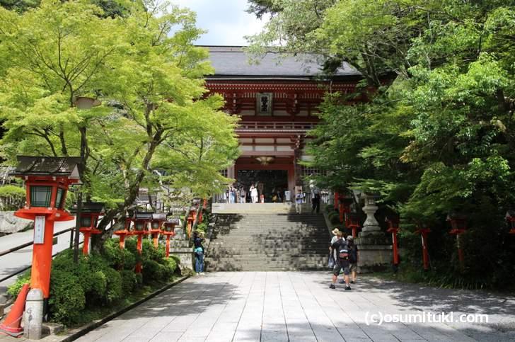 京都のパワースポットと紹介されることが多い「鞍馬寺」