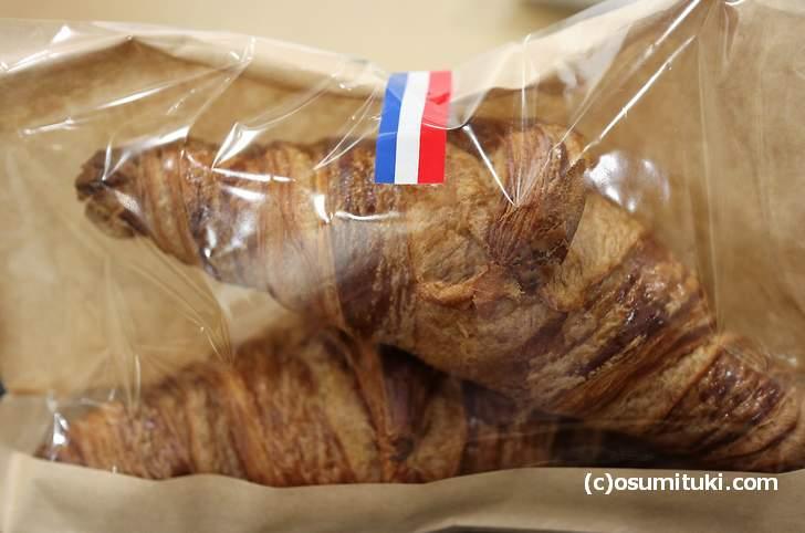 フランスから生地を直輸入して作ったという「クロワッサン」
