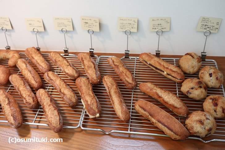 パンはテークアウト、もしくはドリンク注文でイートイン可能です