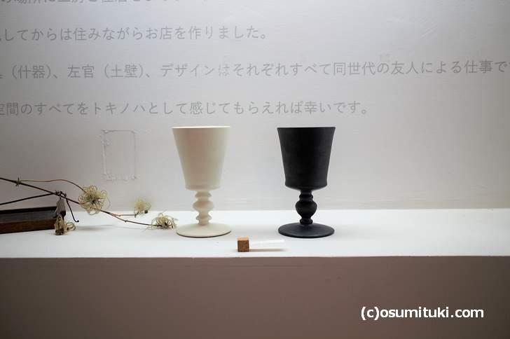 トキノハさんでは京都の清水焼を見たり購入したりできます