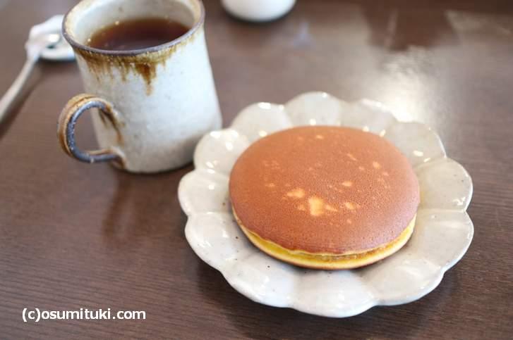 亥ノメのどら焼きをカフェでイートインしました