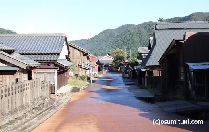 うそばは、鯖街道の宿場町「若狭熊川宿」で食べることができます