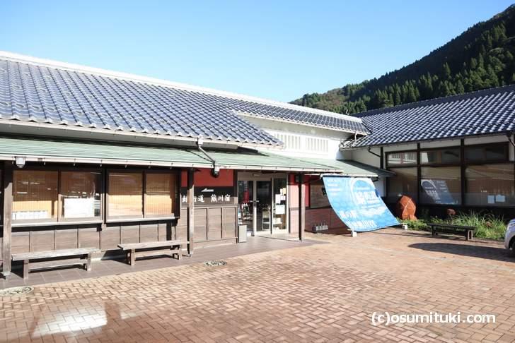 新名物「うそば」は、若狭熊川宿にある道の駅レストランで食べることができます