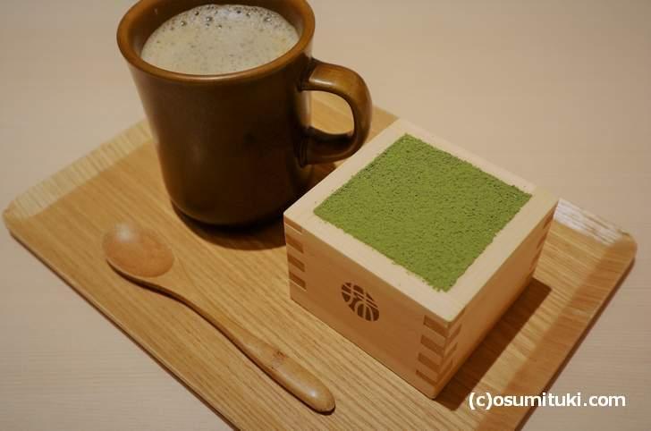 京都だと行列で食べるのが困難な「宇治抹茶のティラミス」