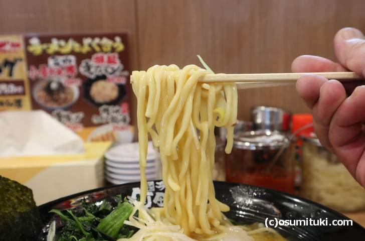 やや味わいに欠ける町田商店系の麺