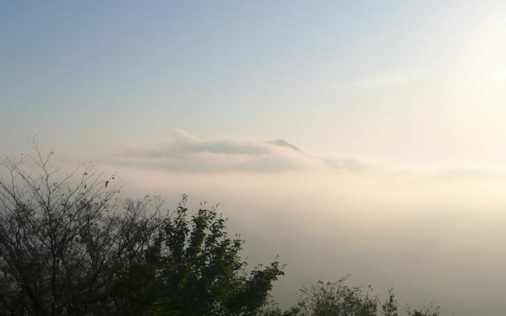 大江山から見た雲海(京都府)
