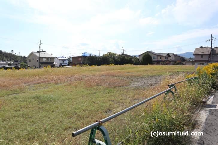 宿泊施設より商業施設が欲しい御室仁和寺前の好立地(2018年10月18日撮影)