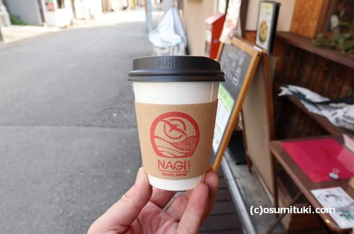 京都で売っている「TeaCoffee NAGI」どんな味がするのかな?