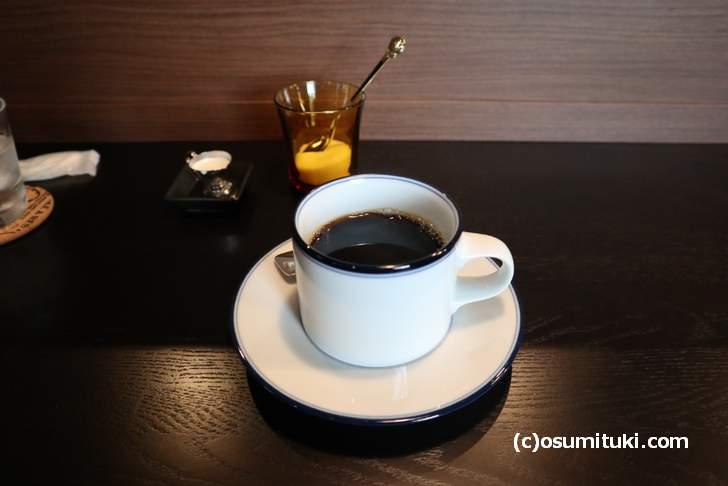 カフェ Tricolore のコーヒー(400円~)