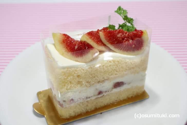 無花果ショートケーキ(パティスリー195)