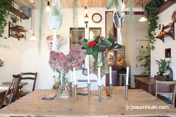 お花がたくさん「Plants Plants cafe」