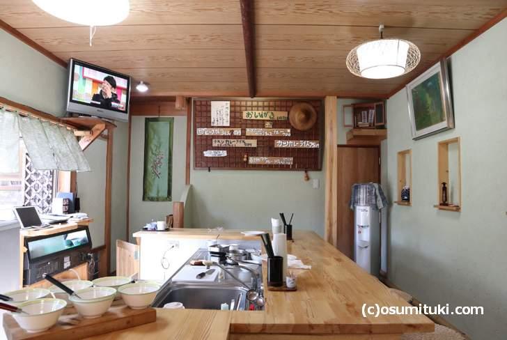 かつきカレー 店内(2018年10月21日撮影)