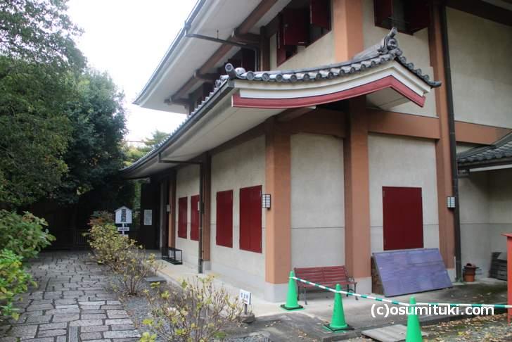 千本釈迦堂大報恩寺の宝庫「霊宝殿」
