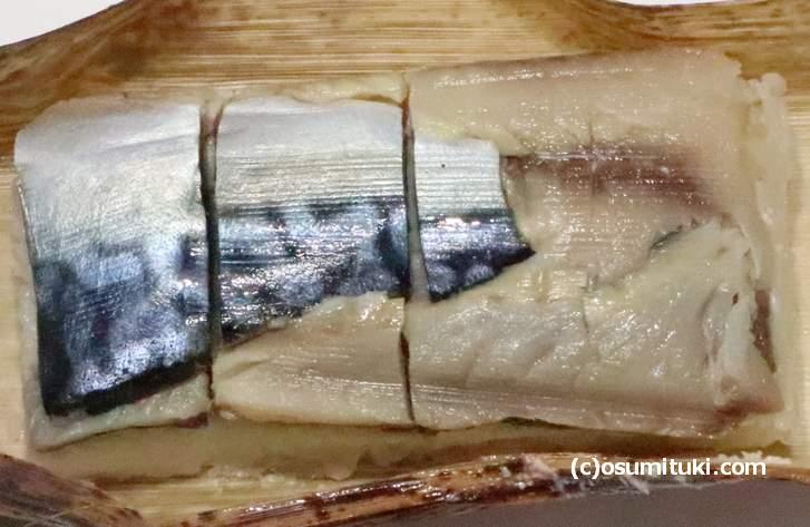 昆布を使わない鯖寿司もあります