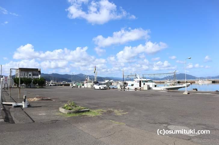 福井県小浜市の小浜港、京都から鯖街道を走って到着