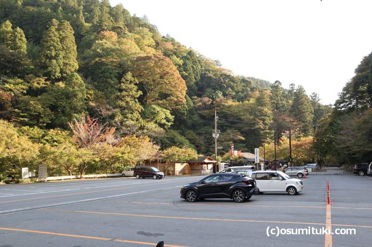 京都では11月1日頃から「紅葉」シーズン突入(写真は高山寺周辺、2018年10月29日撮影)