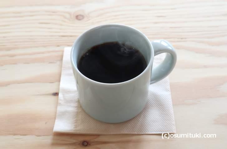 コーヒー(500円)は玄琢の「ソニアコーヒー」焙煎豆です