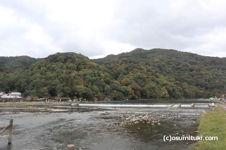 嵐山の紅葉状況(2018年11月2日)