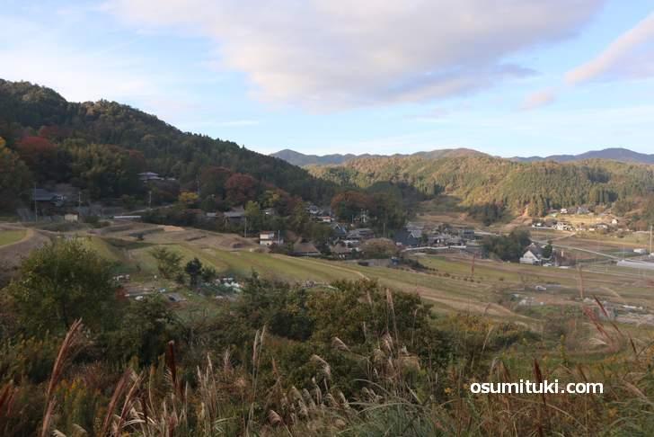 能勢町の「長谷の棚田」