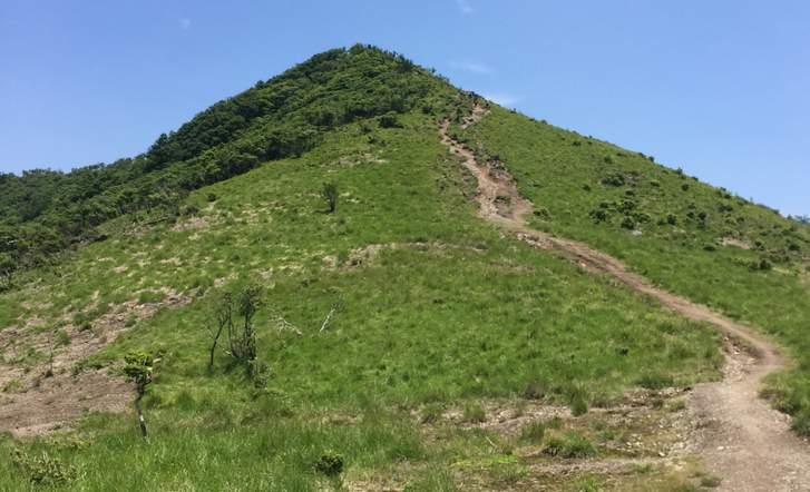 比良山系「武奈ヶ岳」