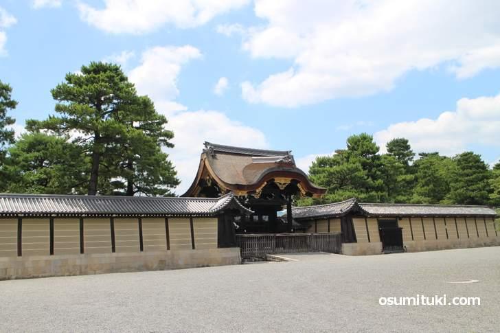 京都御所、京都では一番有名な場所と言えますが呼び方は2つあるようです