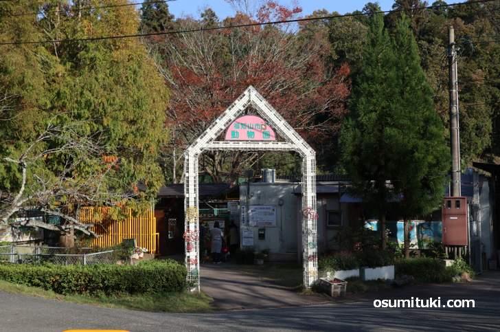 三段池公園には「福知山市動物園」もあります