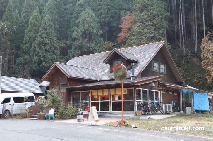 片通無理カフェ(カタツムリカフェ)は日曜日のみ営業する花背のカフェ