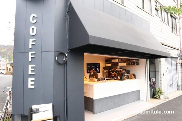 DRIP&DROP COFFEE 銀閣寺店(2018年11月17日撮影、掲載許可済)