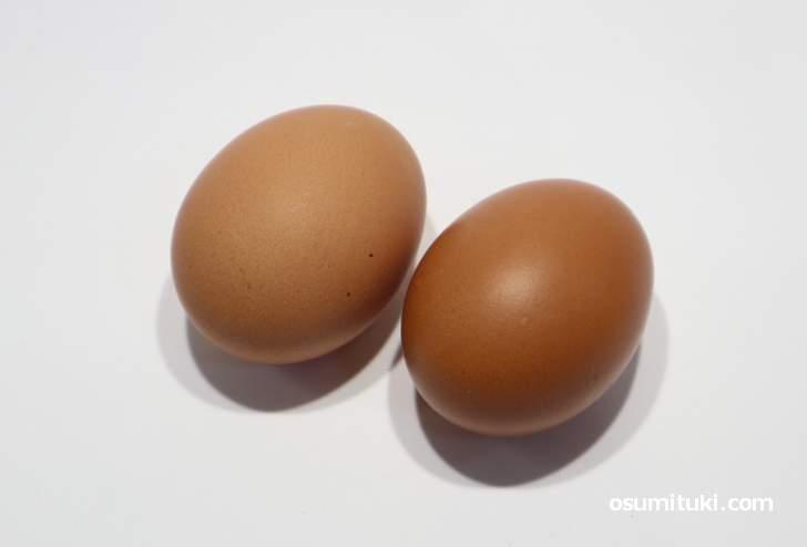 ピロール卵(実物)現在でも入手可能ですが「ピロール」を名乗れません